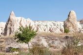 picture of goreme  - Close up of rock formation in Goreme - JPG