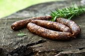 picture of sausage  - Chorizo sausages - JPG