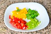 Colorful Chopped Pappers