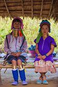 Karen Tribal Woman From Padaung Long Neck Hill Tribe Village