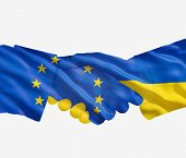 Eu Ukrainian Handshake