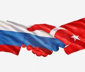 Russia Turkey Handshake