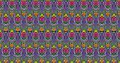 Rose fantasy pattern