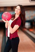 picture of bowling ball  - My lucky ball - JPG