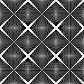Design Seamless Monochrome Pattern