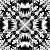 Design Warped Trellised Pattern