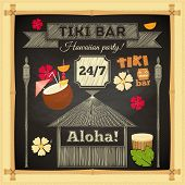 foto of tiki  - Tiki Bar - JPG