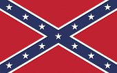 stock photo of confederation  - The battle flag of the Army of Tennessee - JPG