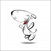 Illustration Of The Dog