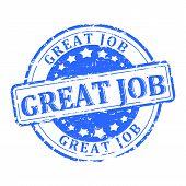 Blue Stamp - Great Job