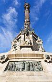 Monument of Columbus, Barcelona.