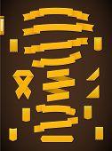 Golden Ribbons.