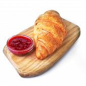 Fresh Crusty Croissant