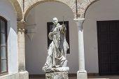 Cartuja Monastery Courtyard, Jerez De La Frontera, Cádiz