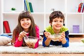 Healthy breakfast for children