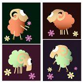 Funny Sheep Cartoon Collection