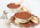 Tiramisu, Traditional Italian Dessert.selective Focus