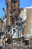 Aftermath fire destroys mill