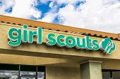 Girl Scouts Of America Facilty And Sign