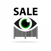 picture of barcode  - Template icon - JPG