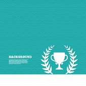 stock photo of prize winner  - Background with seamless pattern - JPG
