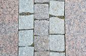 stock photo of paving  - Paving slabs close up as a background - JPG