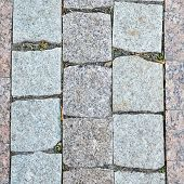 foto of paving  - Paving slabs close up as a background - JPG