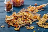 stock photo of papaya fruit  - Dried fruits  - JPG