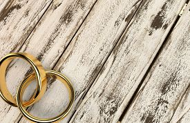 stock photo of married  - Marriage marriage marry ring rings wedding ring wedding rings 3D - JPG