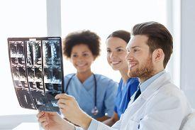 stock photo of spine  - radiology - JPG