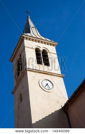 Bell tower of LEstaque Marseille