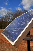 Solar Panel - Portrait View