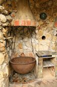 Old Outdoor Kitchen poster