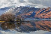 Misty Reflections At Derwent Water