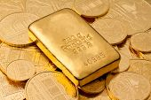 Investment in real gold than gold bullion and gold medal
