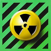 Nuclear radioactive button