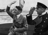 Adolf Hitler And Admiral Raeber