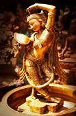 picture of bharata-natyam  - Statue of indian hindu god Shiva Nataraja  - JPG