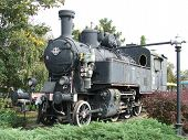 The old steam locomotive