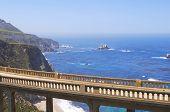 pic of bixby  - Bixby bridge with Pacific ocean in background  - JPG