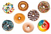 Collection of Assorted Donuts