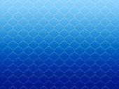 blue honeycomb cells