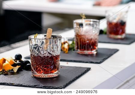 Line Of Classic Alcoholic Godfather