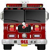 Fire Engine Illustration