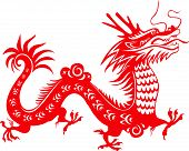 Chinese Dragon. Symbol of the 2012