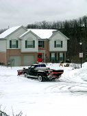 Winter Snow Plowing