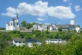 Idyllic Village Of Reifferscheid  In Eifel Near National Park,north Rhine Westphalia,germany poster