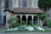 Church - Garden -Cloister (Albi, France)