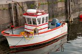 Süße kleine Fishboat