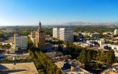The View On The North Part Of The Downtown Of San Jose, California, The Capitol Of Silicon Valley, H poster